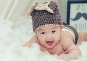 bimbo piccolo di un anno